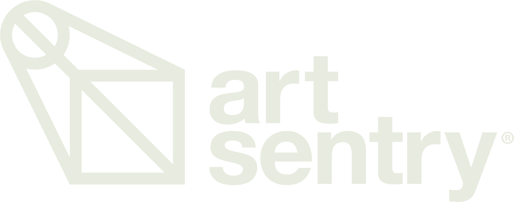 ArtSentry_RegisteredLogo_RGB_OneColor_Cream_R0.1_052919